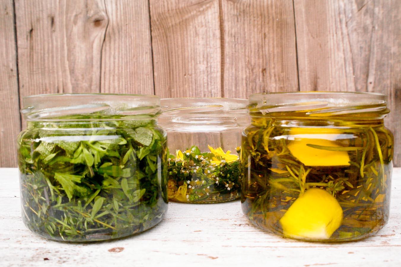 oleje ziołowe, maceraty