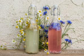 Kwiatowe lemoniady