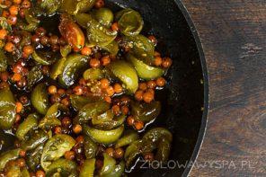 Zielone pomidory – gąszcz i konfitura