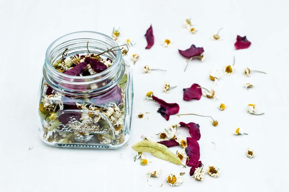 ziolowa herbata na uśnięcie