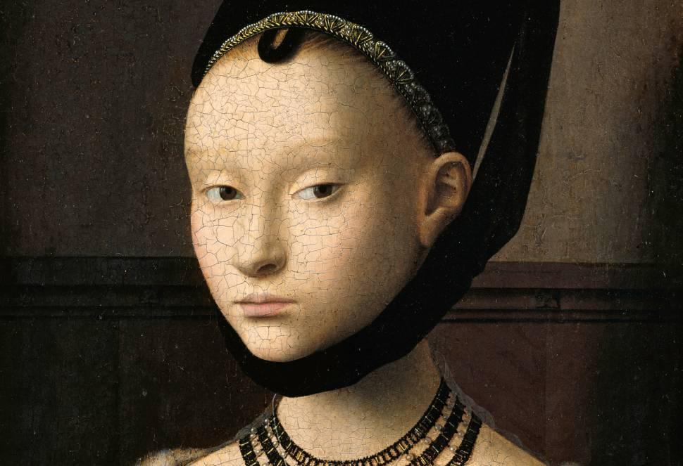 fryzura czasów średniowiecza