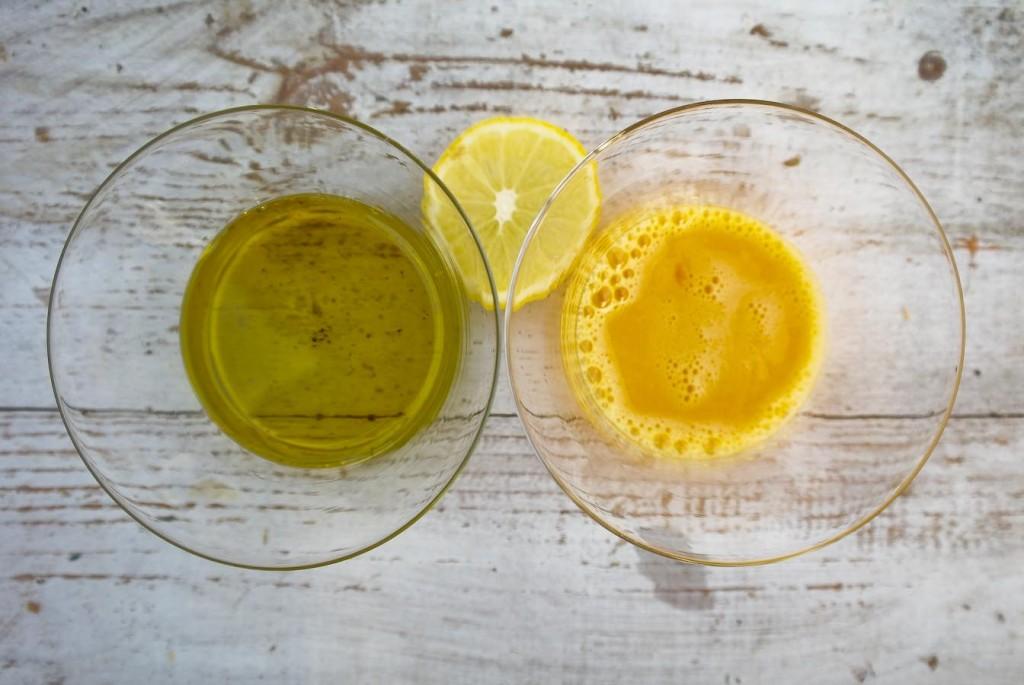 maseczka na włosy z żółtka i oleju ziołowego