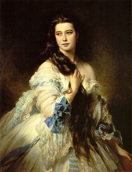 Franz Xaver Winterhalter - Barbara Dmitrievna Mergassov Rimsky-Korsakova