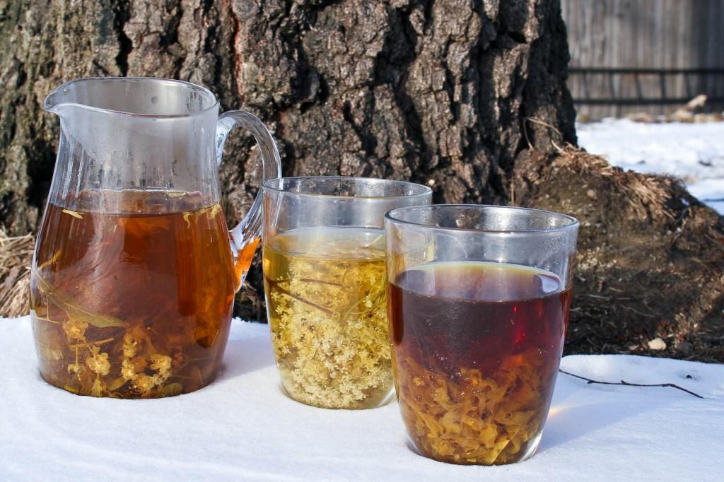 Herbatkli ziołowe, mieszanki