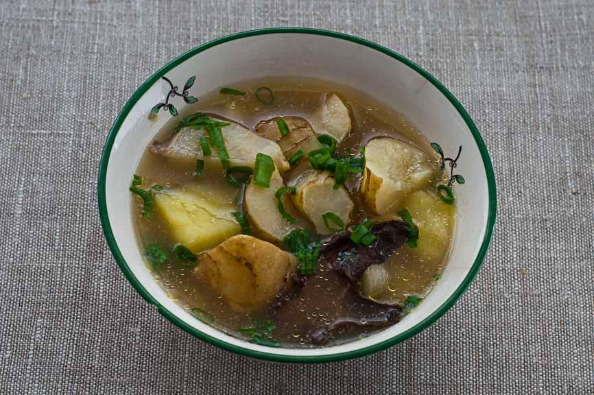 zupa z topinamburem